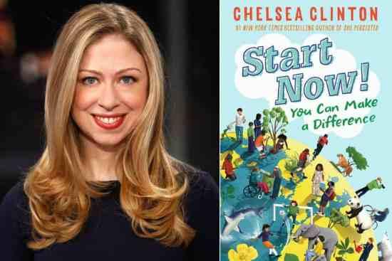 Chelsea Clinton women and children first bestseller list