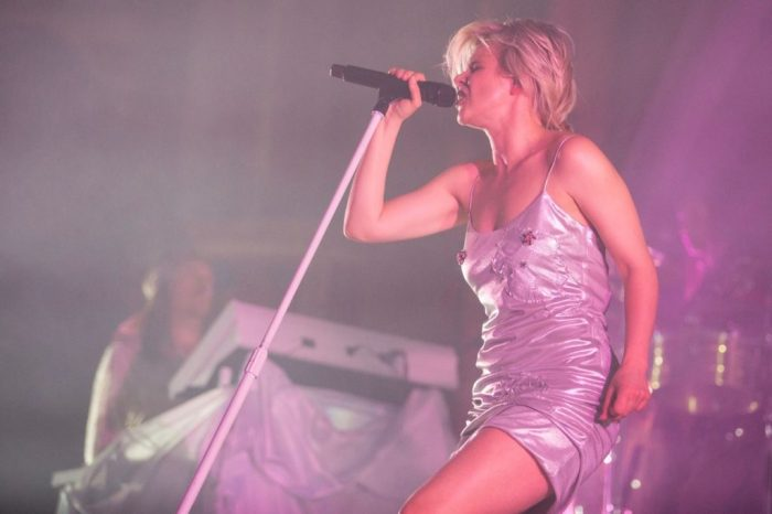 Robyn performing at Chicago's Aragon Ballroom on March 6, 2019