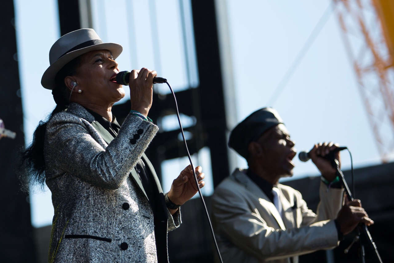 The Selecter performs at Riot Fest in Chicago on Sept. 14, 2019
