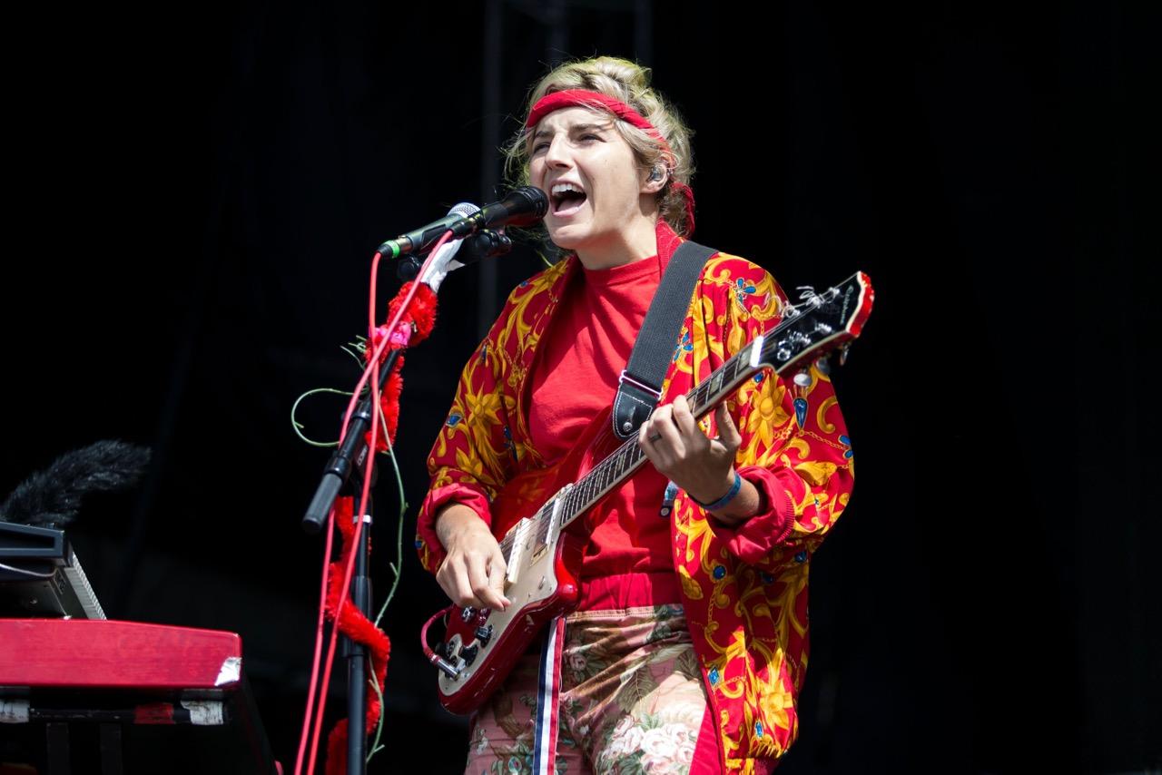 Caroline Rose performs at Riot Fest in Chicago on Sept. 13, 2019