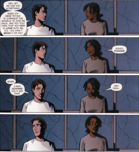 Y: The Last Man panel