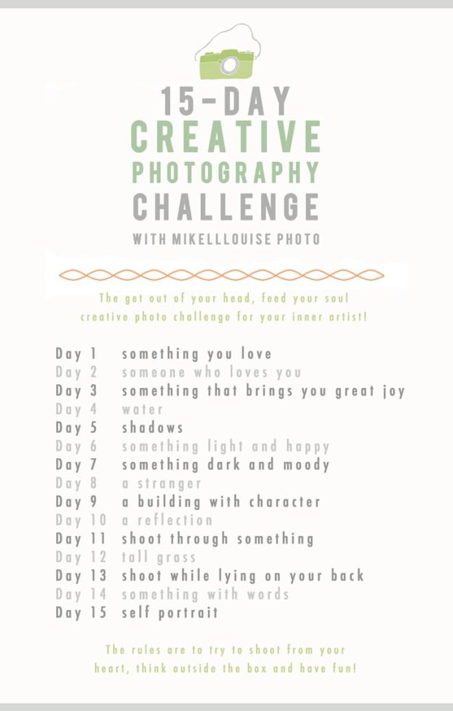 15 day challenge sm