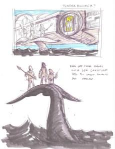 Mon Calamariprinsen - säsong 7 koncept