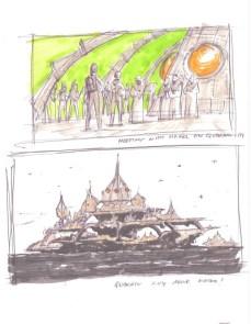 Quarren flytande stad - säsong 7 koncept