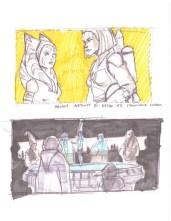 Ahsoka och Bo-Katan - Jedirådet - Säsong 7 koncept