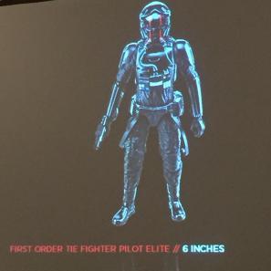 """First Order TIE-pilot 6"""""""