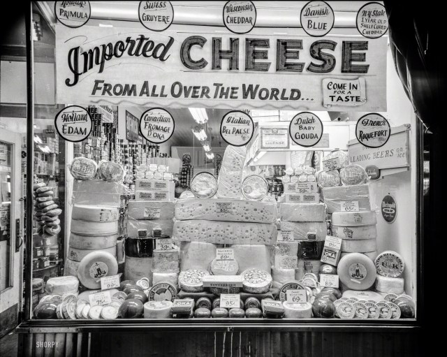 eb 2015 - 4x5 filmneg - John M Fox - Cheese 1 of 2