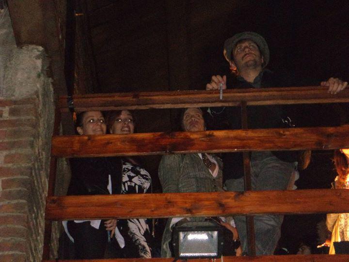 con steven al party guardando il concerto01