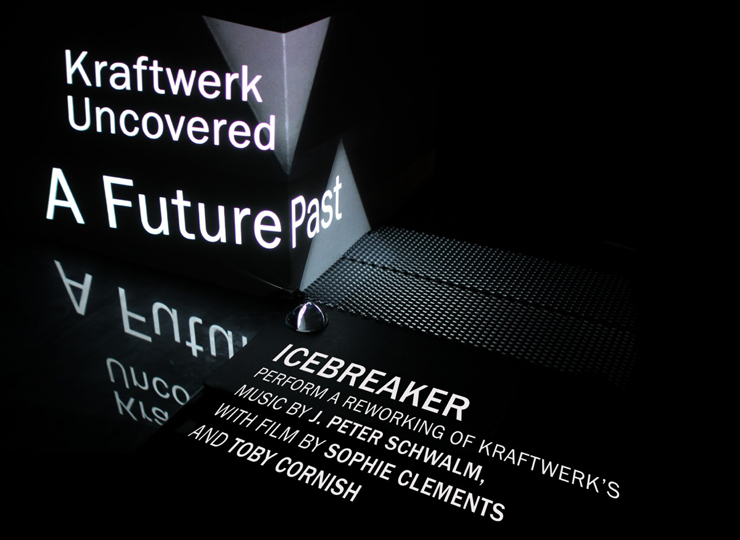 Icebreaker perform Kraftwerk Uncovered A Future Past: The Interview