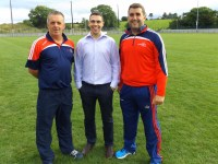 GDA James McCarthy, Games Manager Kevin O'Callaghan, Sean Crowley GDA
