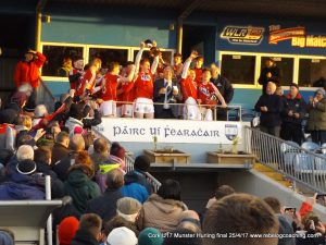 Cork U17 Hurlers win Munster title