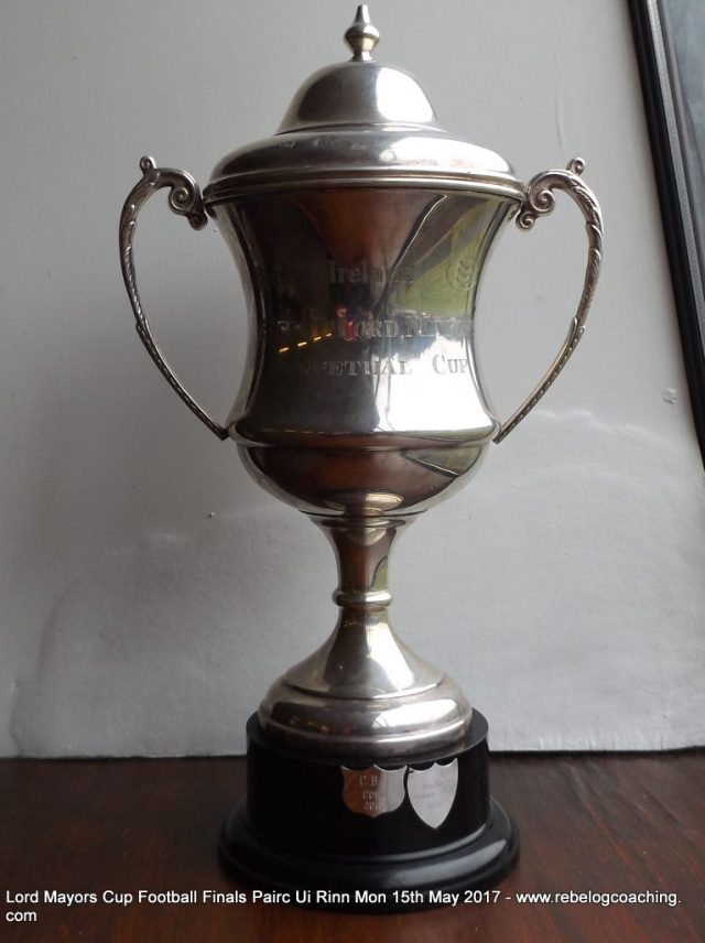 Lord Mayors Cup Football finals