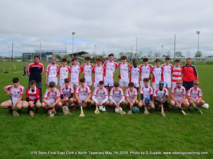 East Cork v North Tipperary SF Munster U15 (1)