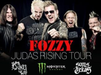 Fozzy Judas Rising Tour poster