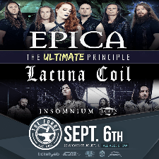 Epica - The Ultimate Principle tour poster