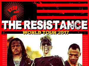 Otep-Resistance tour poster