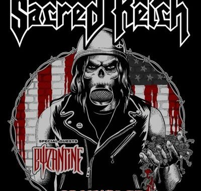 Sacred Reich Tour poster