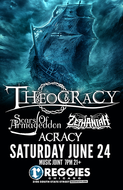 Theocracy concert poster