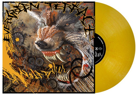Wolfbiker Album Cover on Vinyl