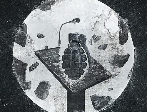 """Cripper logo for their new album, """"Follow Me.:Kill!"""""""