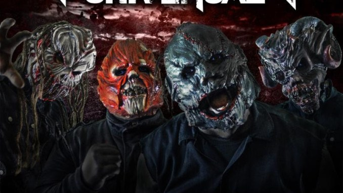 "Terror Universal album cover for ""Make the Bleed"""