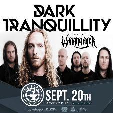 Dark Tranquillity concert poster
