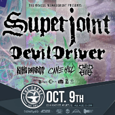 Superjoint tour poster