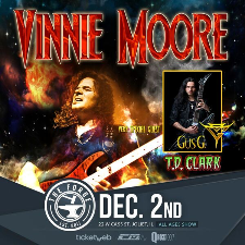 Vinnie Moore tour poster