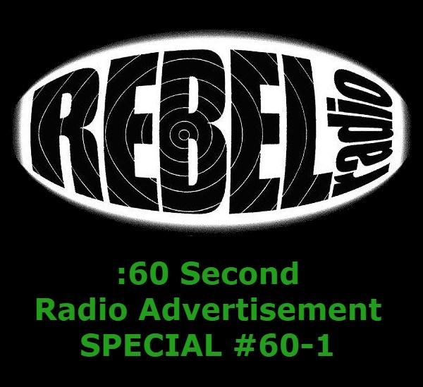 60 second radio ad SPECIAL 60-1