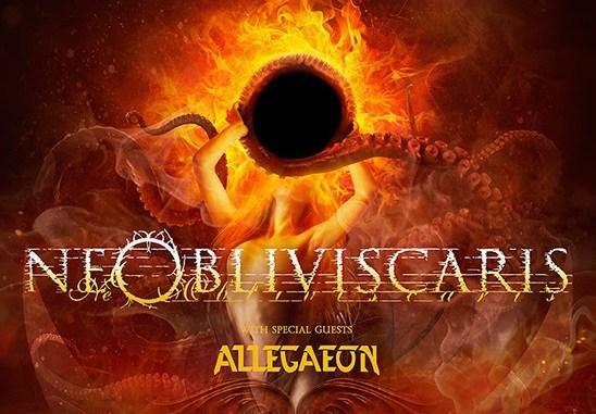 Allegaeon concert poster