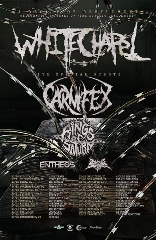 Whitechapel tour poster