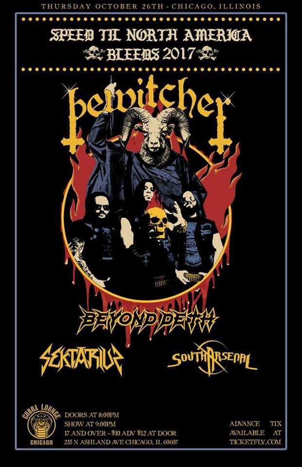 bewitcher concert promo