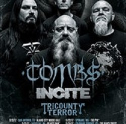 Crowbar, Tombs, Incite, Tricounty Terror at Reggies, Monday, November 27, 2017