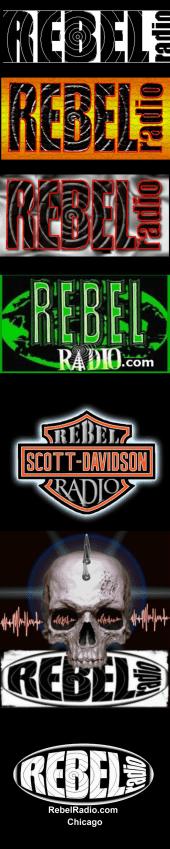 Rebel Radio logo History