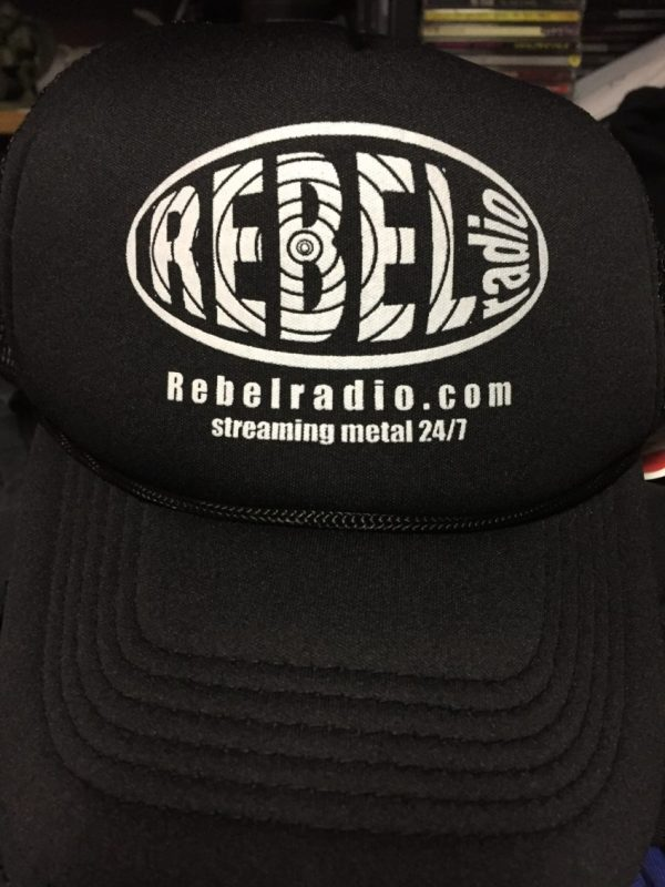 Rebel Radio Trucker Hat, front