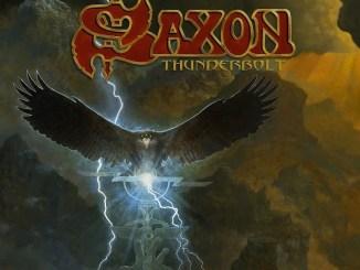 saxon thunderbolt Album cover