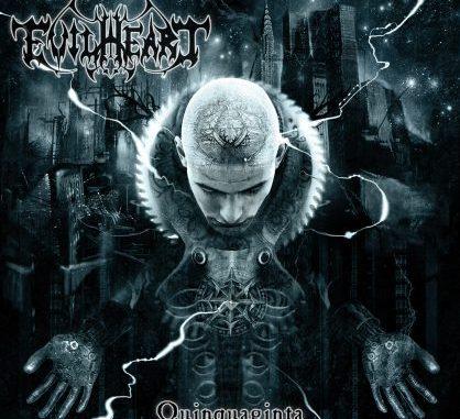 Evilheart album cover for Quinquaginta