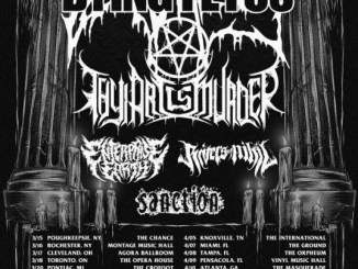 dying fetus with Rivers of Nihil, Thy Art is Murder, Enterprise Earth, and Sanction at the Forge in Joliet, March 21, 2018