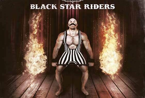 Black Star Riders album cover for Heavy Fire