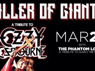 killer of giants Ozzy tribute band