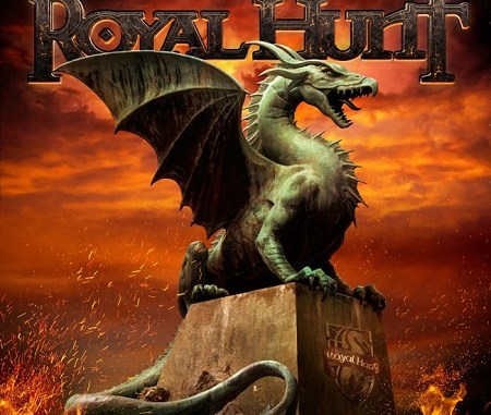 "Royal Hunt album cover for ""Cast in Stone"""