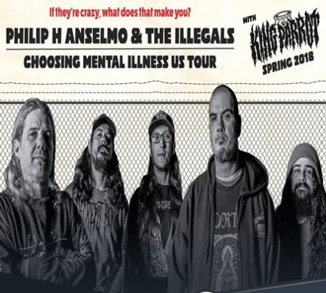 Phillip H. Anselmo and the Illegals at the Forge in Joliet Friday, June 1, 2018