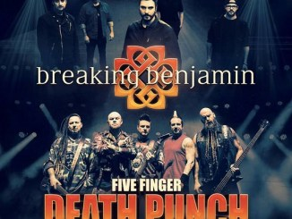Breaking Benjamin and Five Finger Death Punch at Hollywood Casino Amphitheatre Wednesday, August 29, 2018