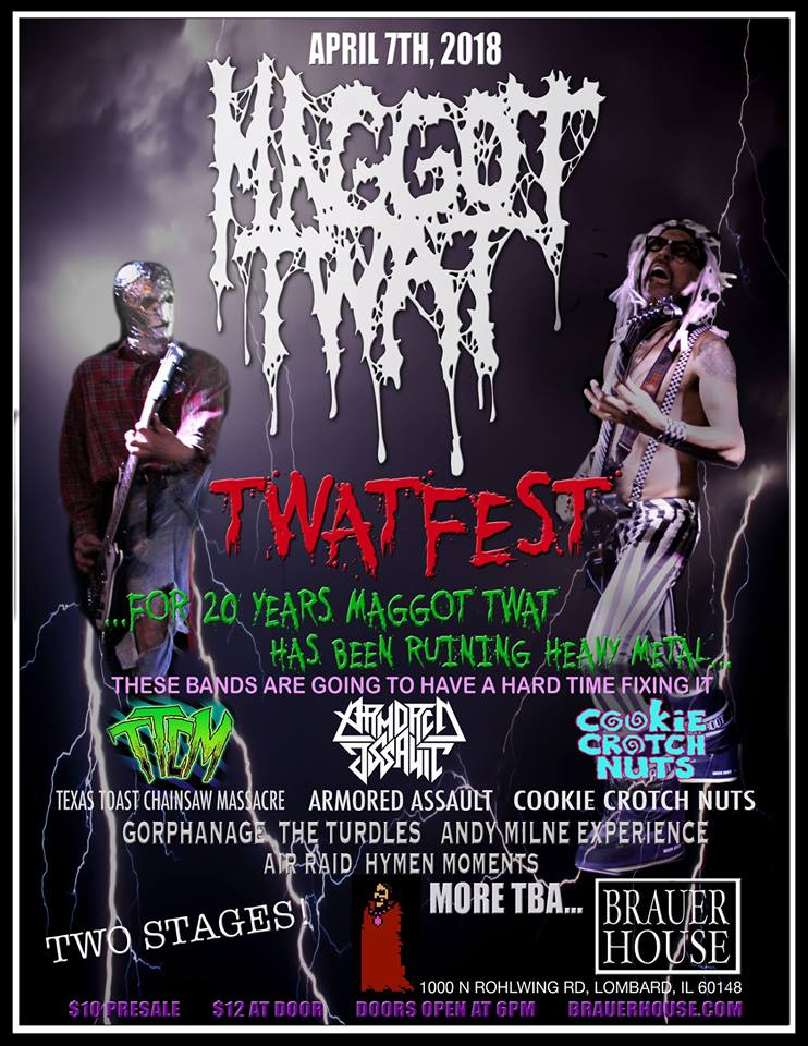 Twat Fest at Brauerhouse Saturday, April 7, 2018