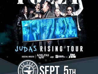 Fozzy at The Forge on Wednesday, September 5, 2018