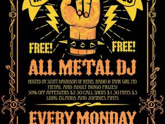Metal Bingo at Brauerhouse every Monday night