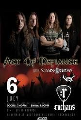 Act of Defiance at Rochaus Friday, July 6, 2018