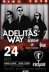 Adelitas Way at Rochaus on Tuesday, July 24, 2018