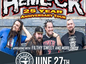 Hemlock at The Forge Wednesday, June 27, 2018