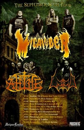 Micawber Tour poster, 2018